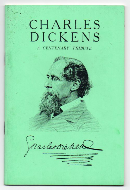 Image for Charles Dickens: A Centenary Tribute