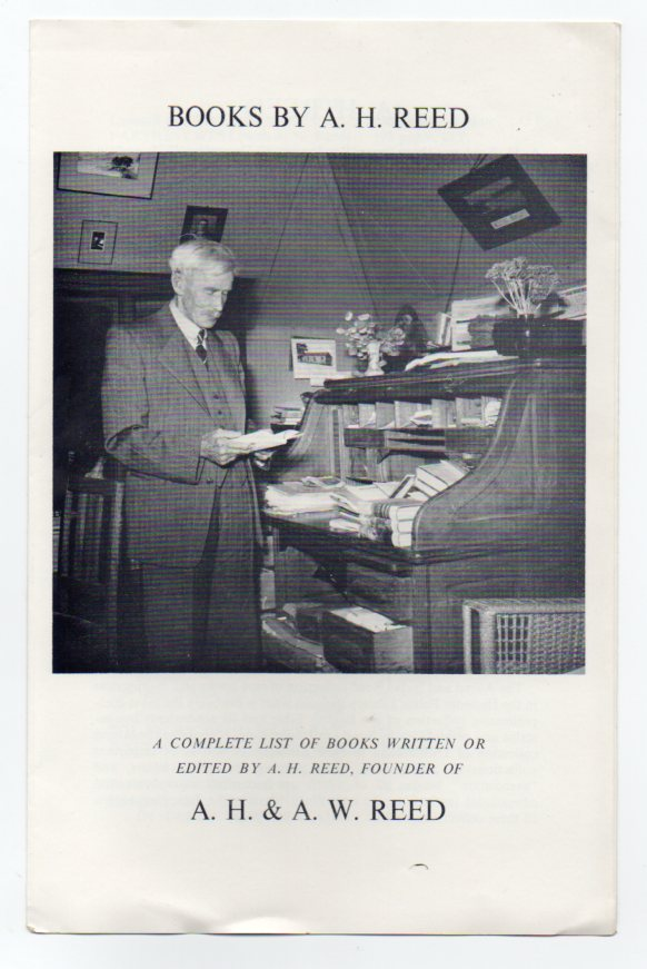 Image for Books by A. H. Reed: A Complete List of Books Written or Edited by A. H. Reed, Founder of A. H. & A. W. Reed