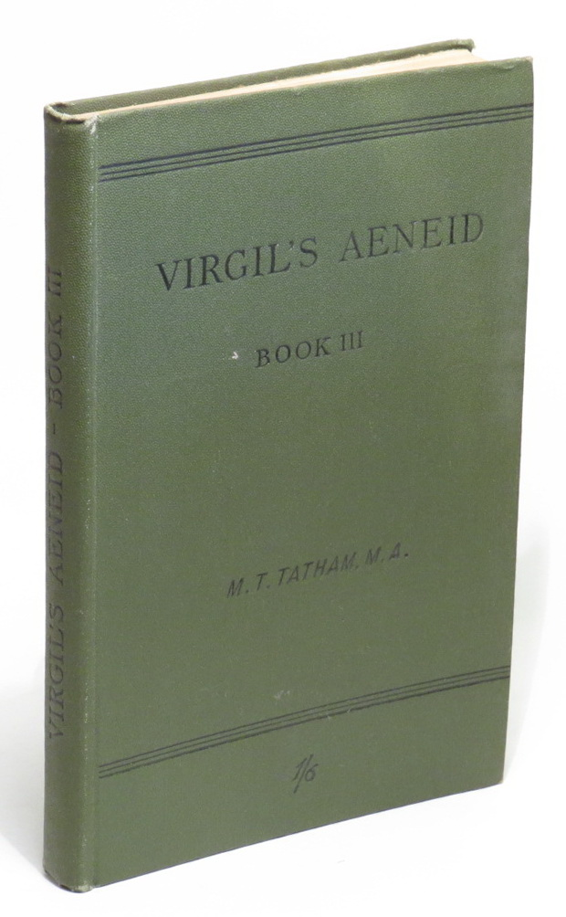 Image for Virgil's Aeneid - Book III