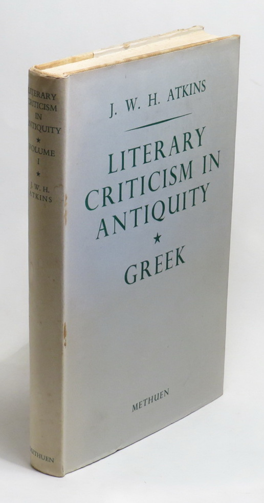 Image for Literary Criticism in Antiquity: A Sketch of its Development - Volume One - Greek