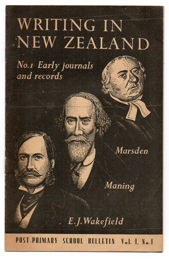 Image for Writing in New Zealand - No. 1 Early Journals and Records - Marsden - Maning - E. J. Wakefield
