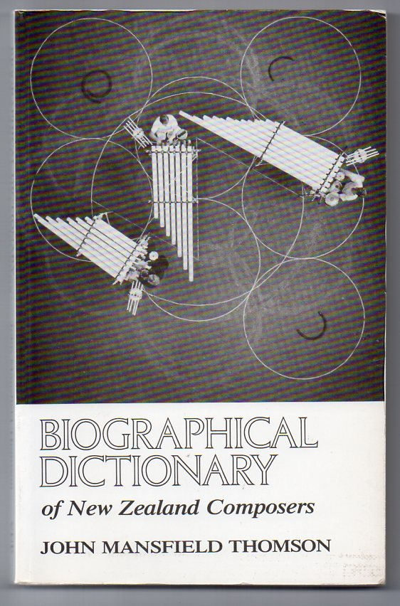 Image for Biographical Dictionary of New Zealand Composers