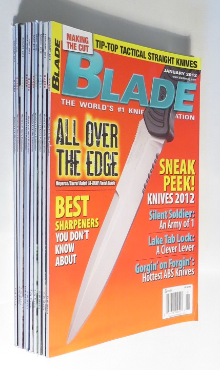 Image for Blade [magazine]: The World's #1 Knife Publication [10 issues, January through October 2012]