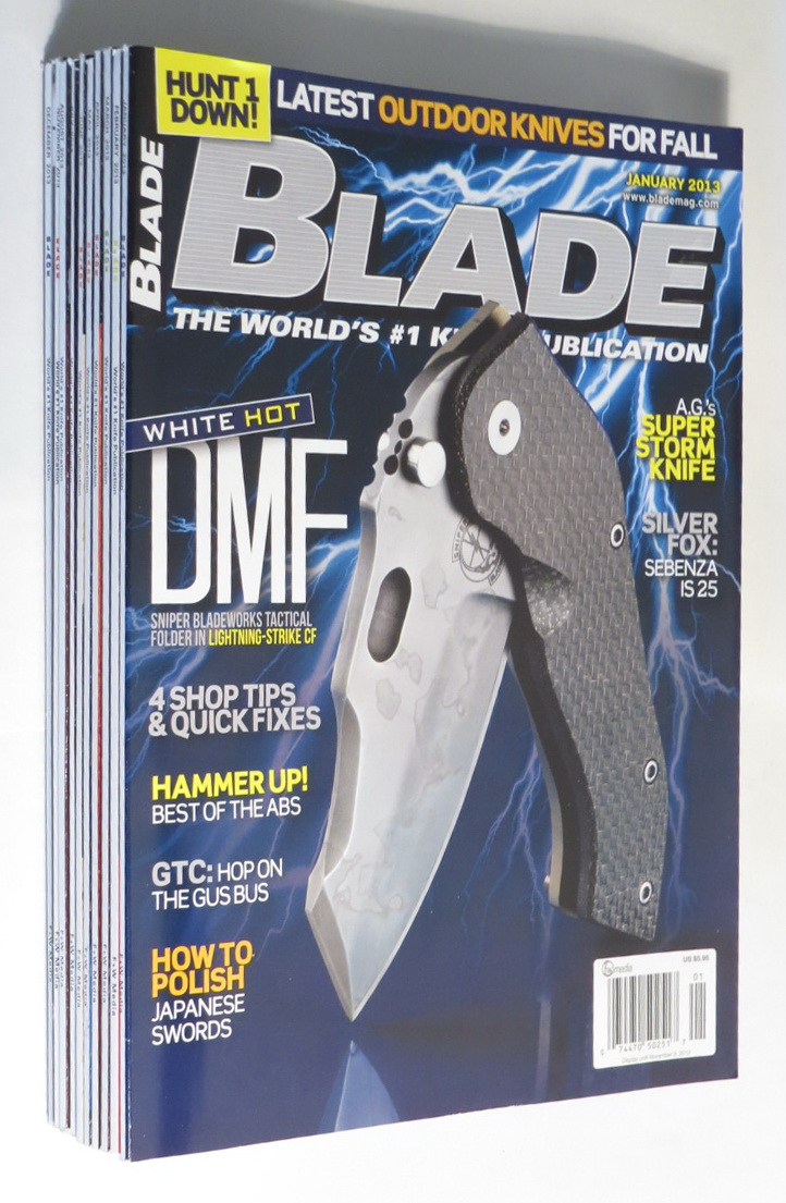 Image for Blade [magazine]: The World's #1 Knife Publication [10 issues from 2013]