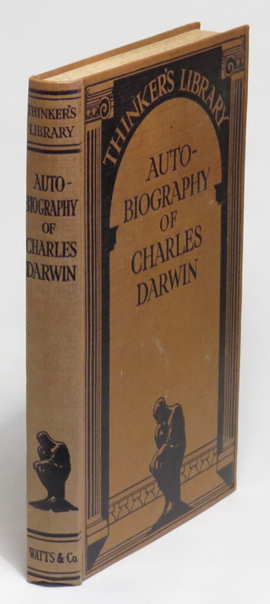 Image for Autobiography of Charles Darwin - with Two Appendices, comprising a chapter of reminiscences and a state of Charles Darwin's religious views, by his son, Sir Francis Darwin