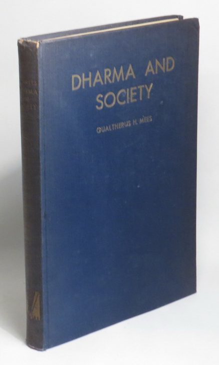 Image for Dharma and Society