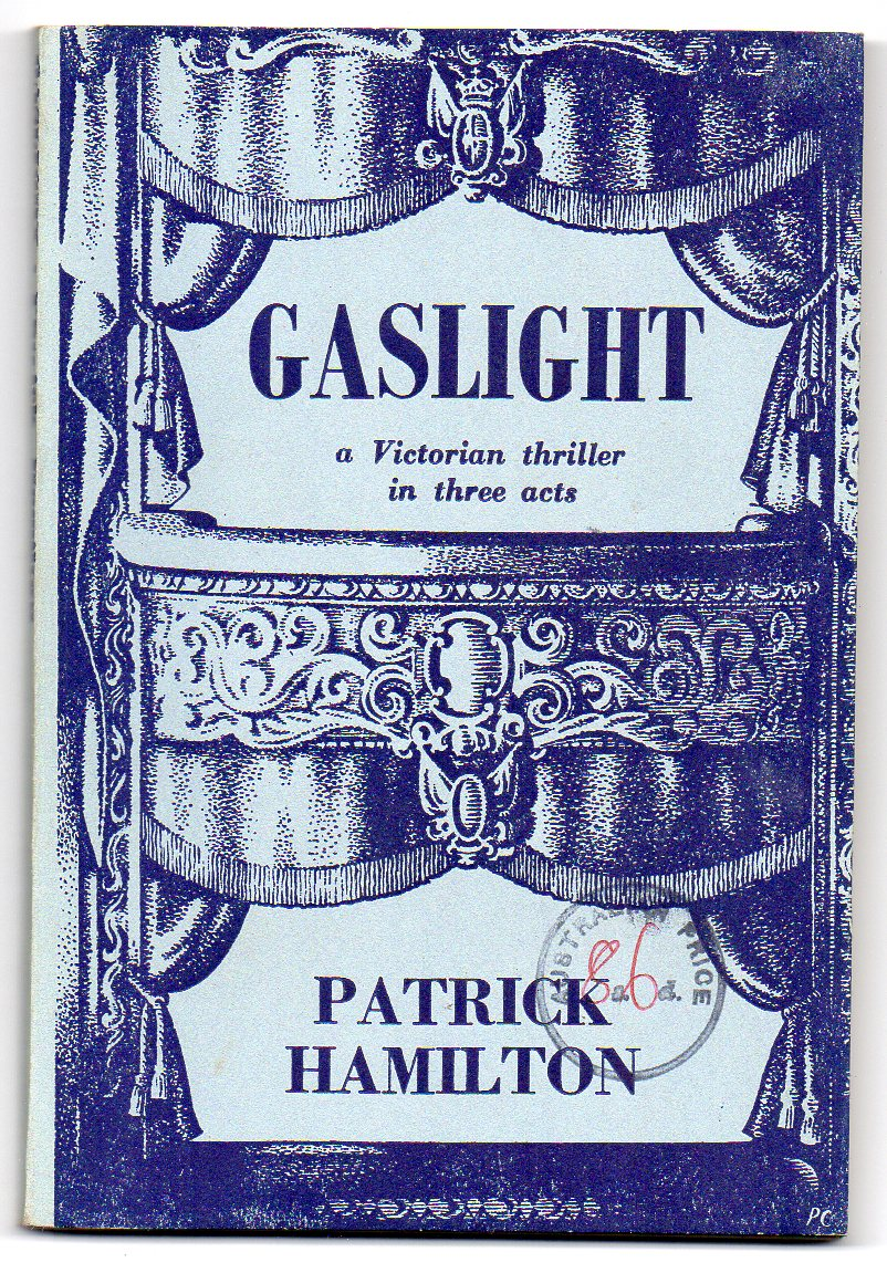 Image for Gaslight: A Victorian Thriller in Three Acts