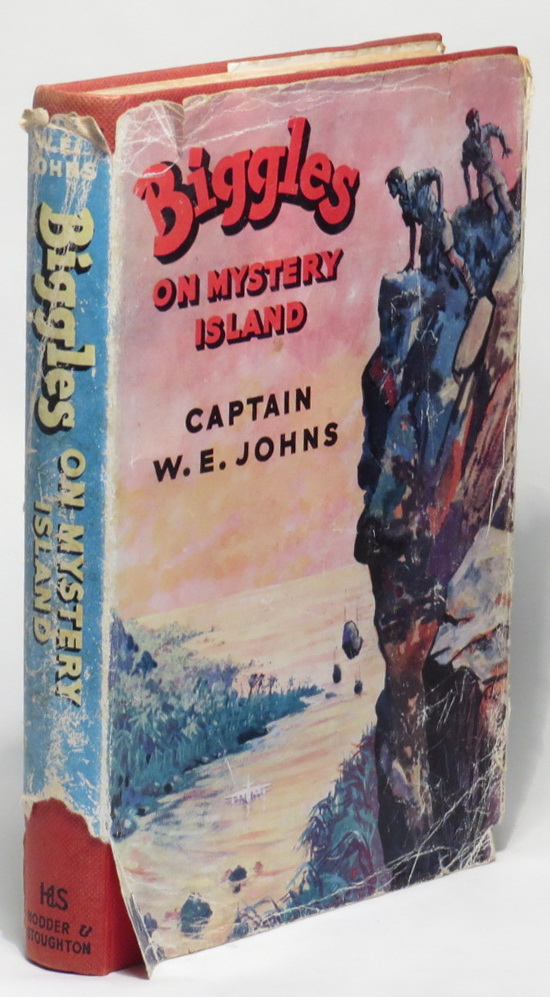 Image for Biggles on Mystery Island