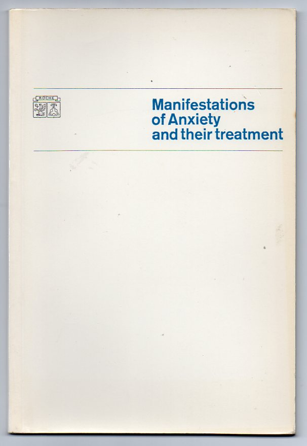 Image for Manifestations of Anxiety and their Treatment