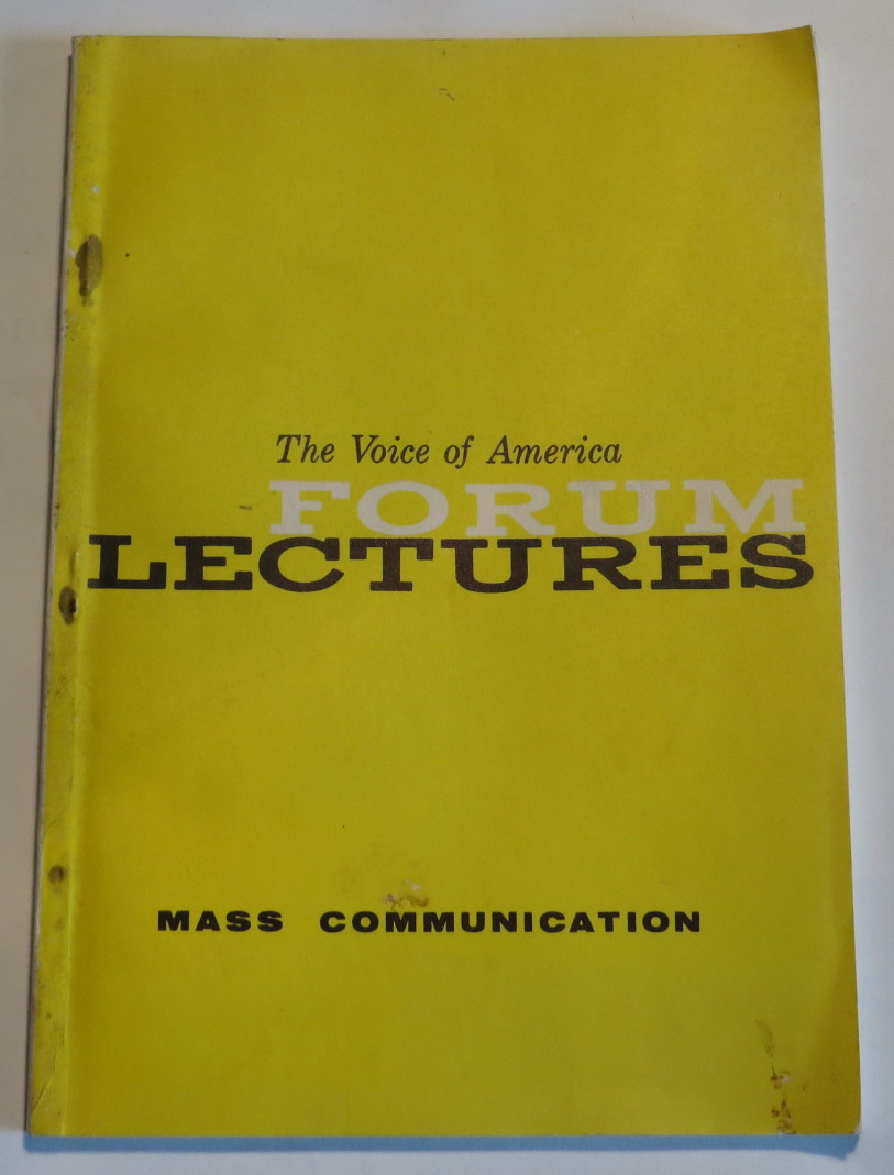 Image for The Voice of America Forum Lectures - Mass Communication