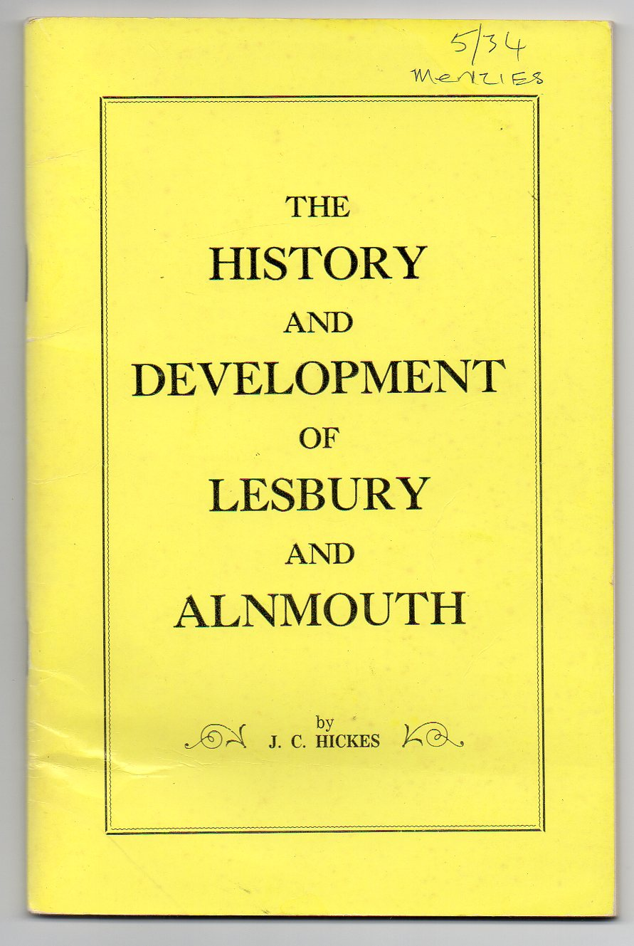 Image for The History and Development of Lesbury and Alnmouth