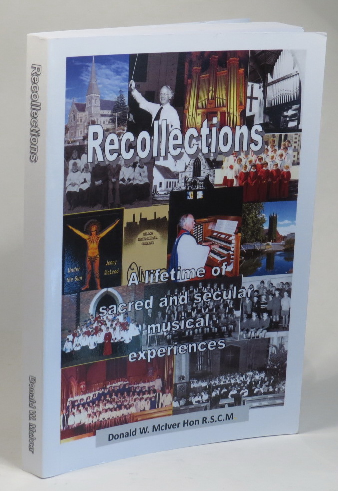 Image for Recollections - A Lifetime of Sacred and Secular Musical Experiences