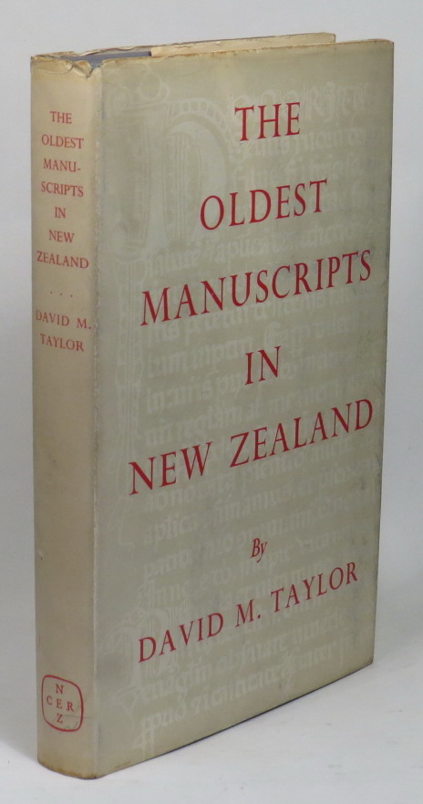 Image for The Oldest Manuscripts in New Zealand