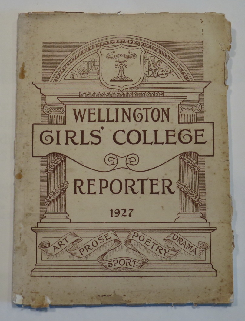 Image for Wellington Girls' College Reporter 1927
