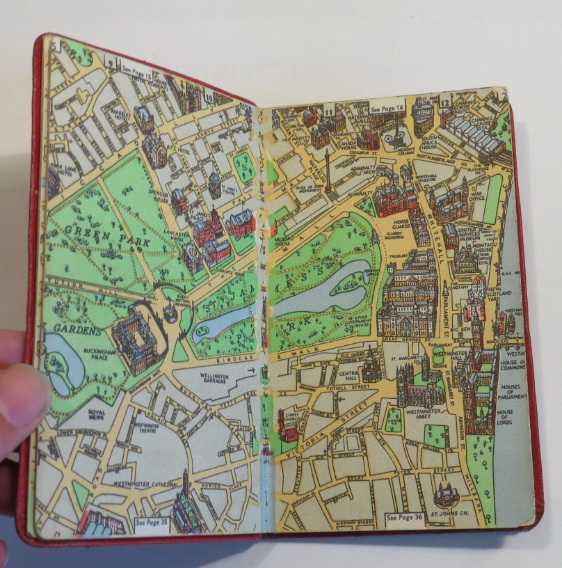 Image for Chichester's Picture Map of London