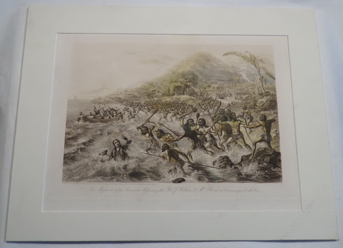 Image for The Massacre of the Lamented Missionary the Revd. J. Williams & Mr. Harris at Erromanga South Seas