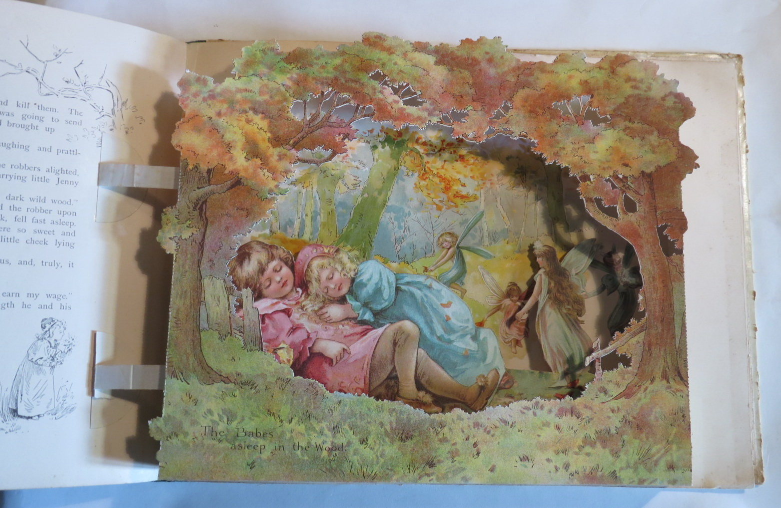 Image for Peeps Into Fairyland - A Panorama Picture Book of Fairy Stories