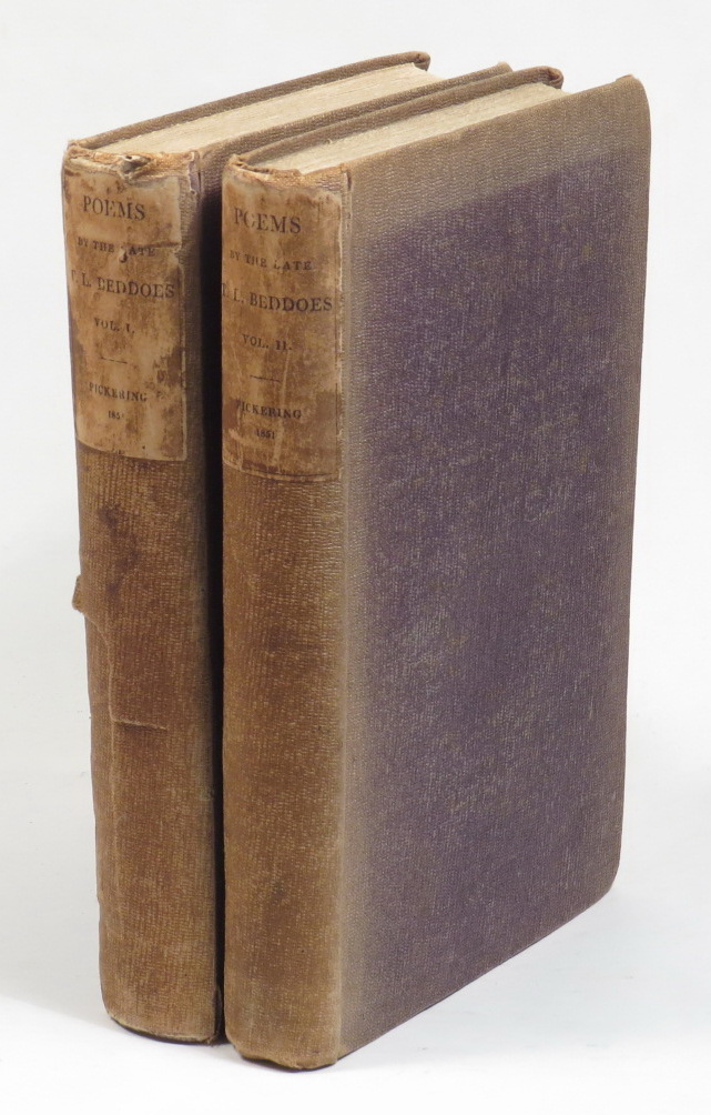 Image for The Poems - Posthumous and Collected of Thomas Lovell Bedoes [Two volumes]