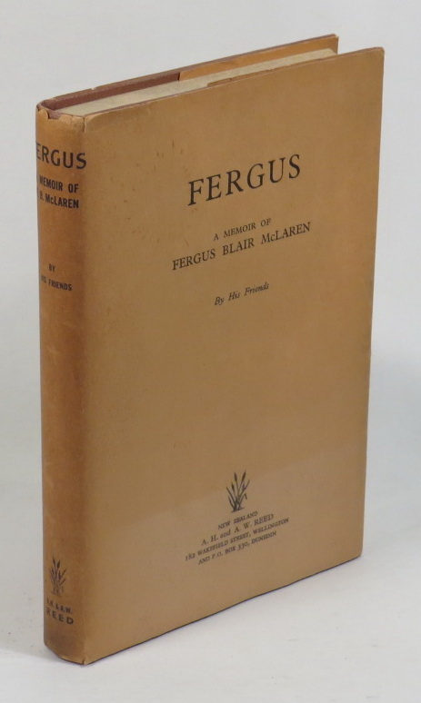 Image for Fergus: A Memoir of Fergus Blair McLaren - By His Friends