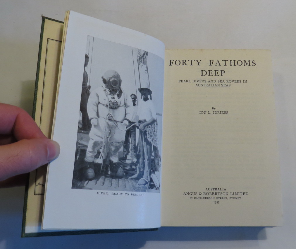 Image for Forty Fathoms Deep: Pearl Divers and Sea Rovers in Australian Seas