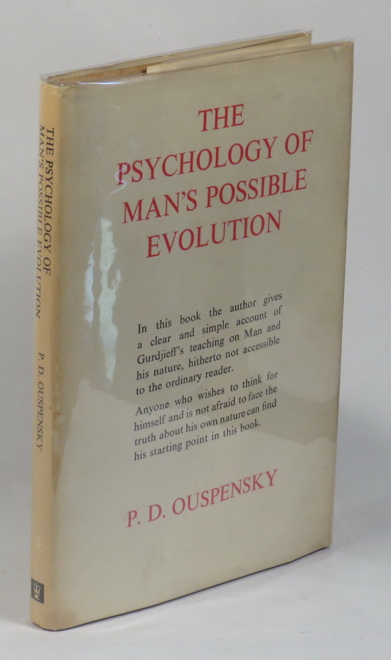 Image for The Psychology of Man's Possible Evolutoin