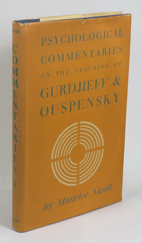 Image for Psychological Commentaries on the Teaching of G. I. Gurdjieff & P. D. Ouspensky [Volume Five]