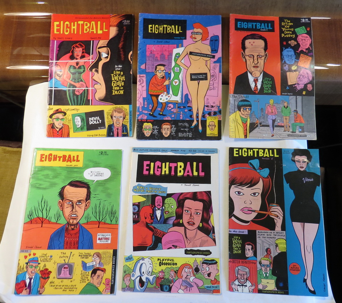 Image for Eightball [run of 6 issues: 1, 2, 3, 4, 5, & 6 (all reprints except for #6)]