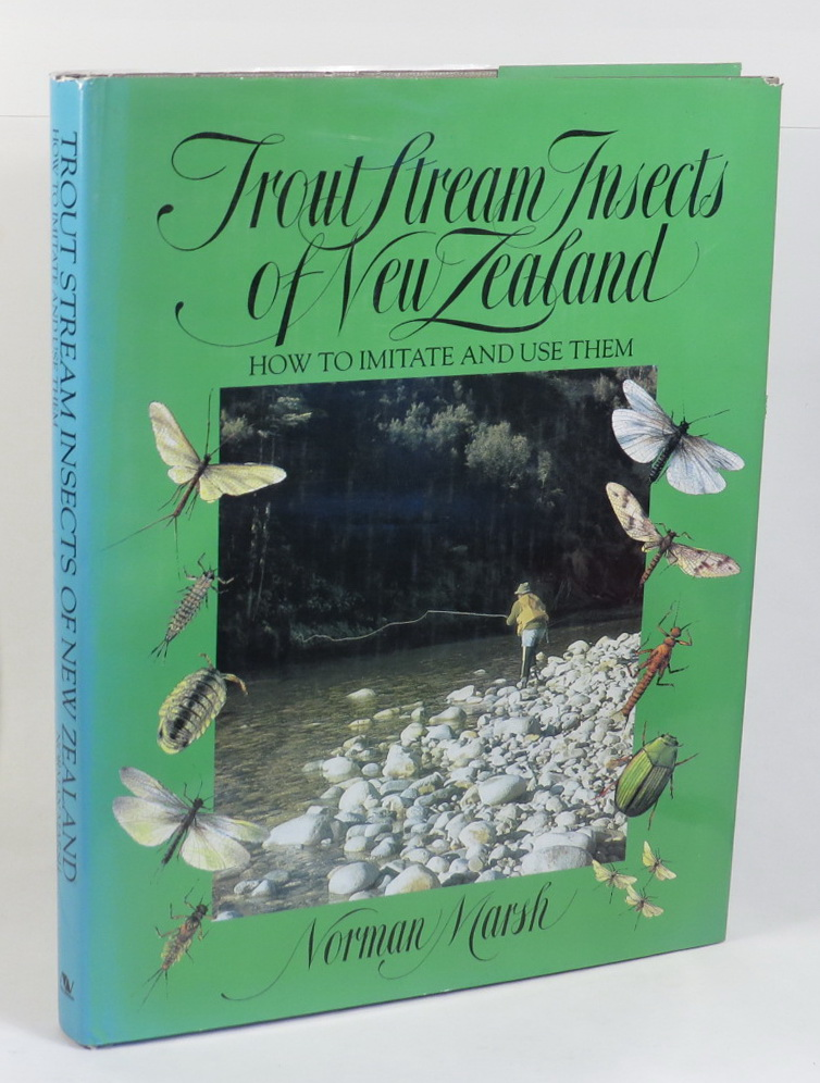 Image for Trout Stream Insects of New Zealand: How to Imitate and Use Them