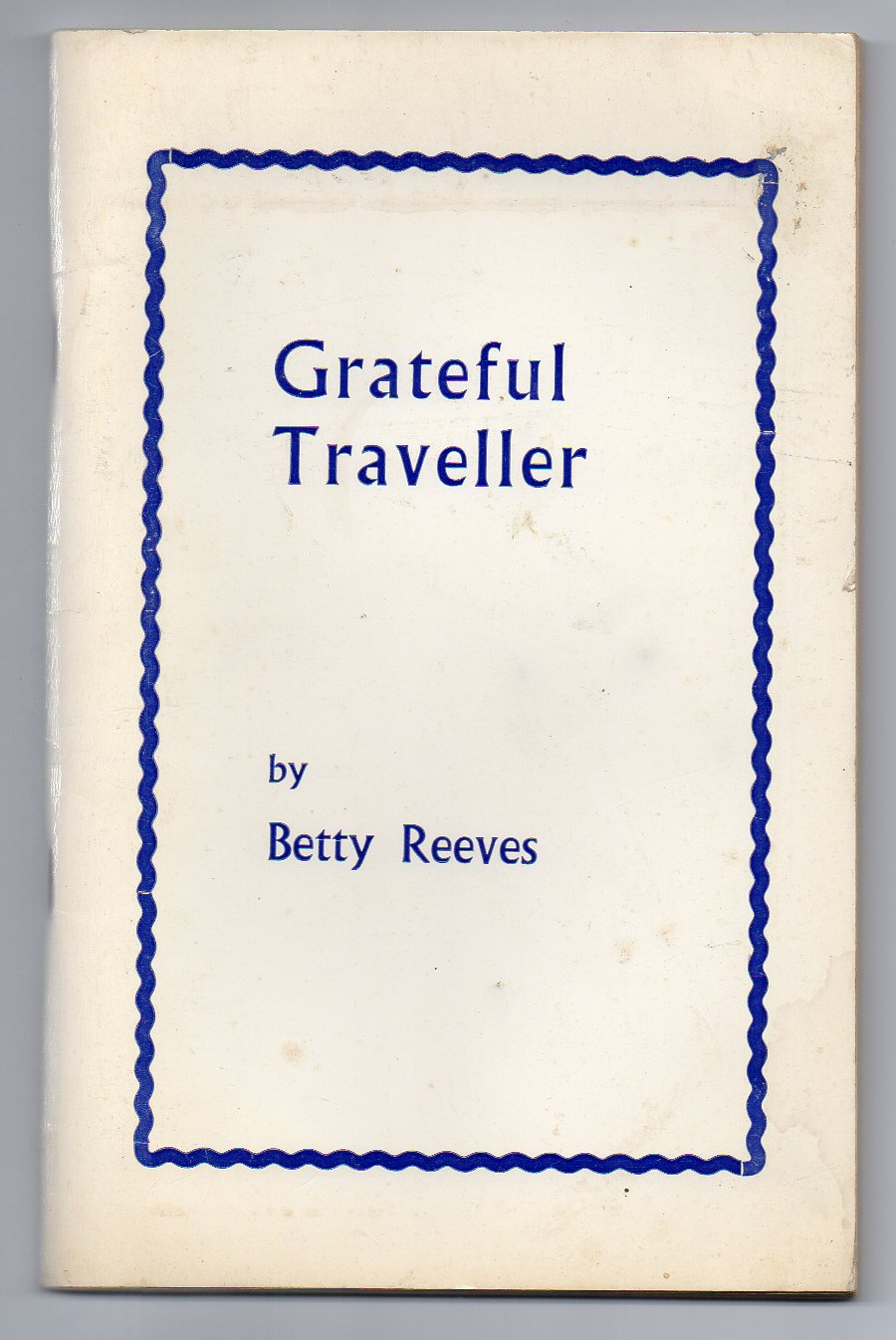 Image for Grateful Traveller