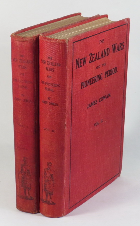 Image for The New Zealand Wars. A History of the Maori Campaigns and the Pioneering Period [Two volumes]