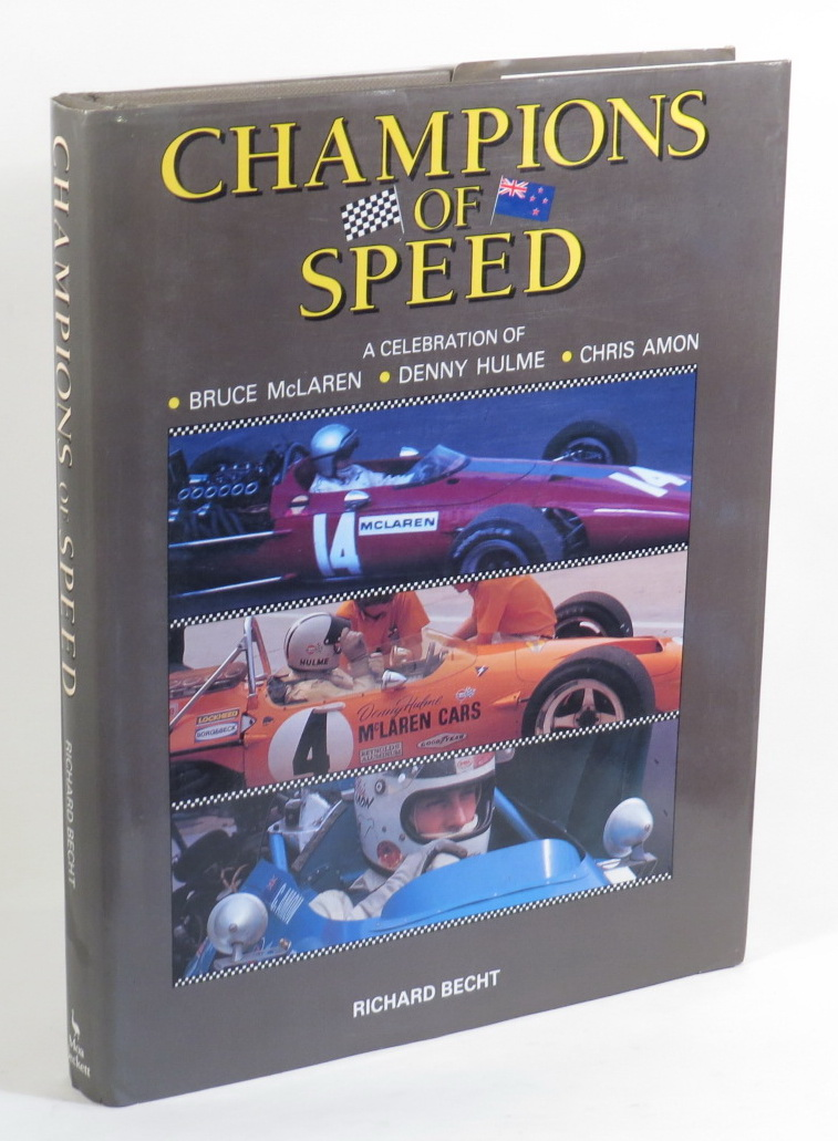 Image for Champions of Speed - A Celebration of - Bruce McLaren - Denny Hulme - Chris Amon