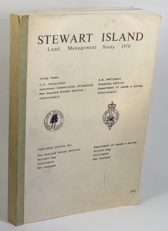 Image for Stewart Island Land Management Study 1978