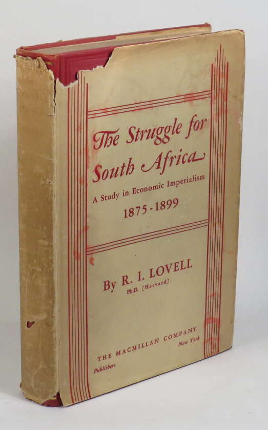Image for The Struggle for South Africa 1875-1899 - A Study in Economic Imperialism