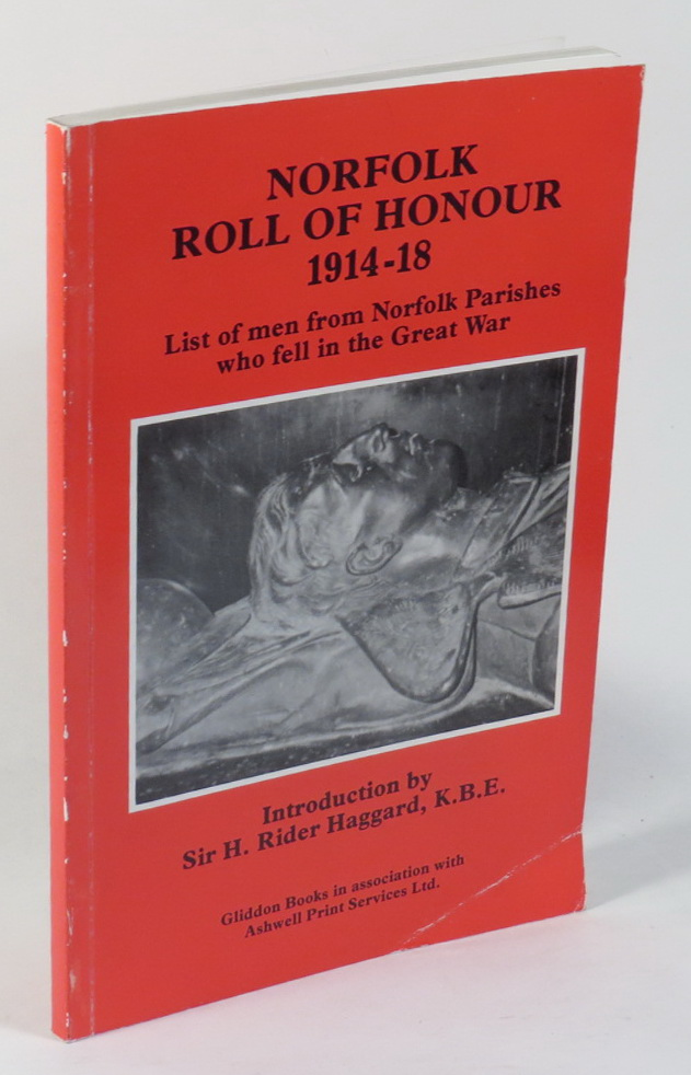 Image for Norfolk Roll of Honour 1914-18 - List of Men from Norfolk Parishes Who Fell in the Great War