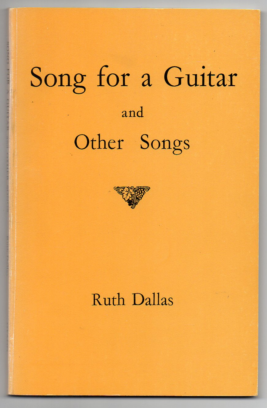 Image for Song for a Guitar and Other Songs