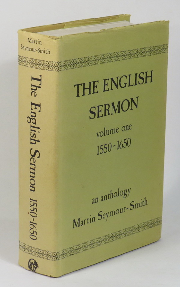 Image for The English Sermon - Volume One - 1550-1650