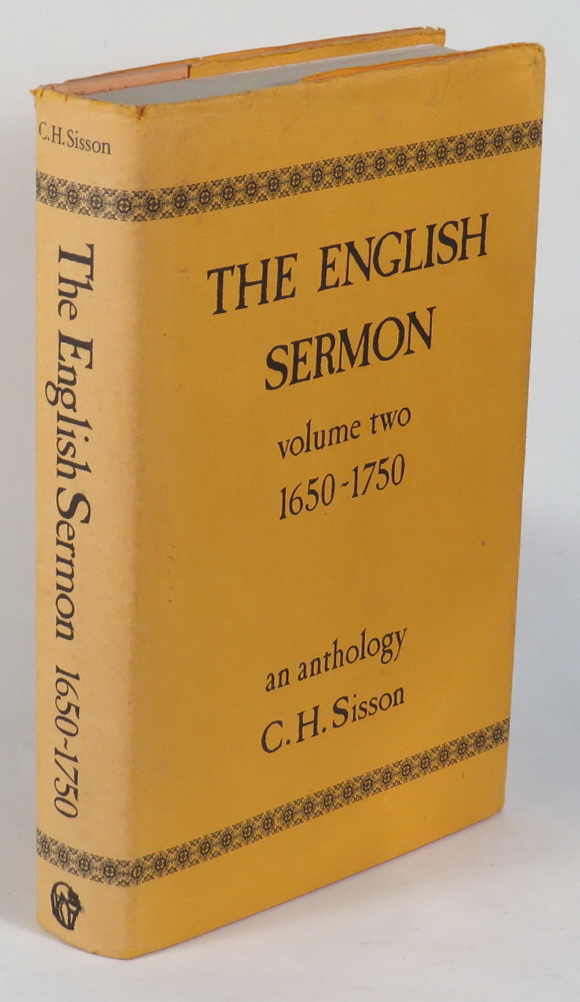 Image for The English Sermon - Volume Two - 1650-1750
