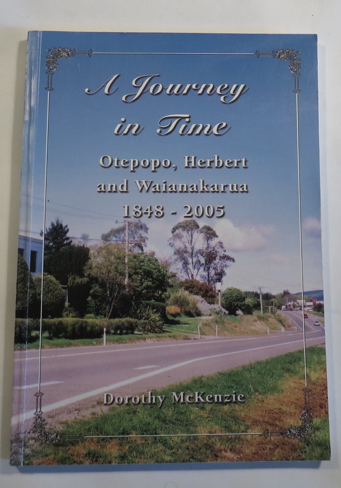 Image for A Journey in Time - Otepopo, Herbert and Waianakarua 1848-2005