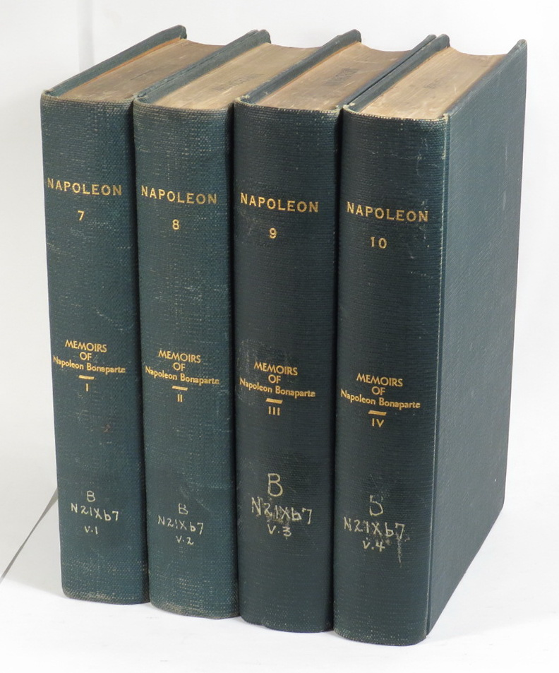 Image for Memoirs of Napoleon Bonaparte [Four volumes]