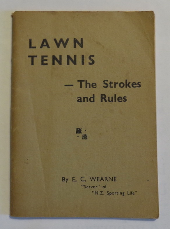 Image for Lawn Tennis - The Strokes and Rules