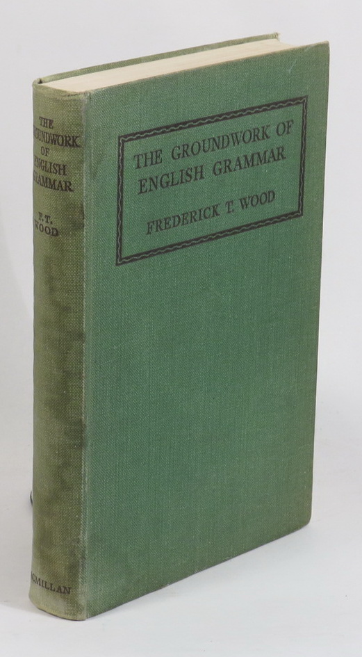 Image for The Groundwork of English Grammar