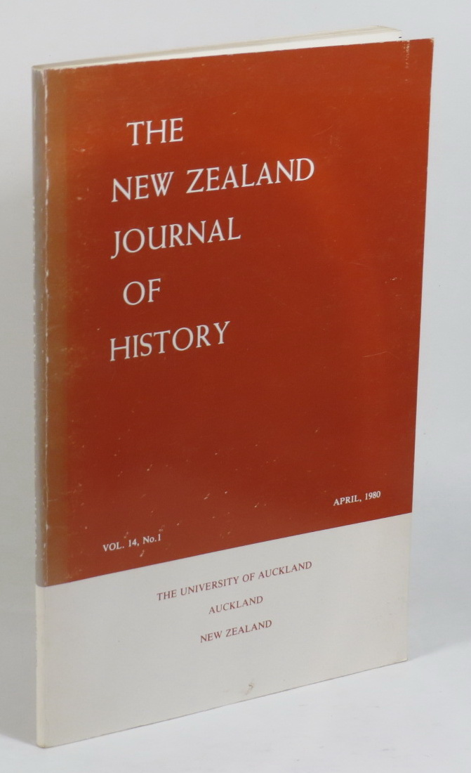 Image for The New Zealand Journal of History. Vol. 14, No. 1 - April, 1980