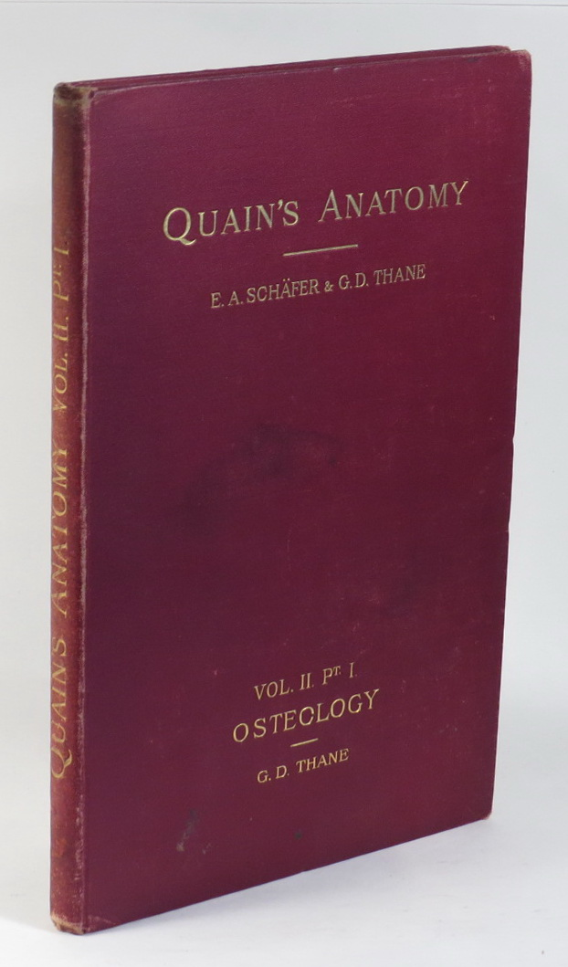 Image for Quain's Elements of Anatomy - Vol. II. - Part I. Osteology [This part only]