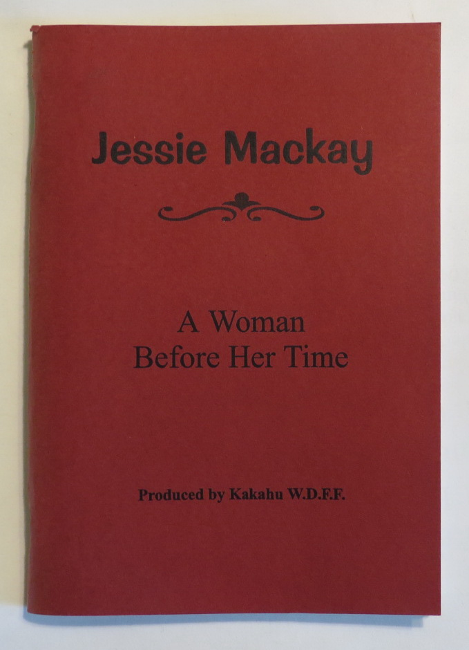 Image for Jessie Mackay. A Woman Before Her Time