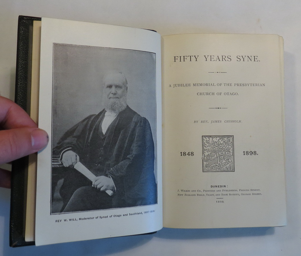 Image for Fifty Years Syne - A Jubilee Memorial of the Presbyterian Church of Otago