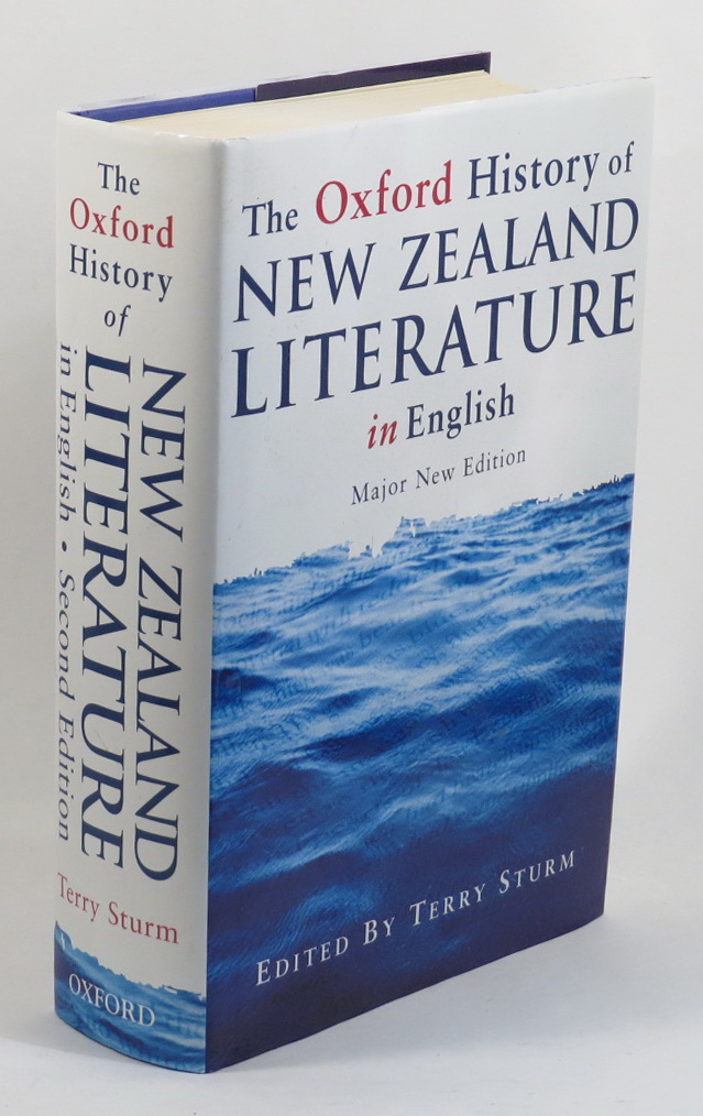 Image for The Oxford History of New Zealand Literature in English