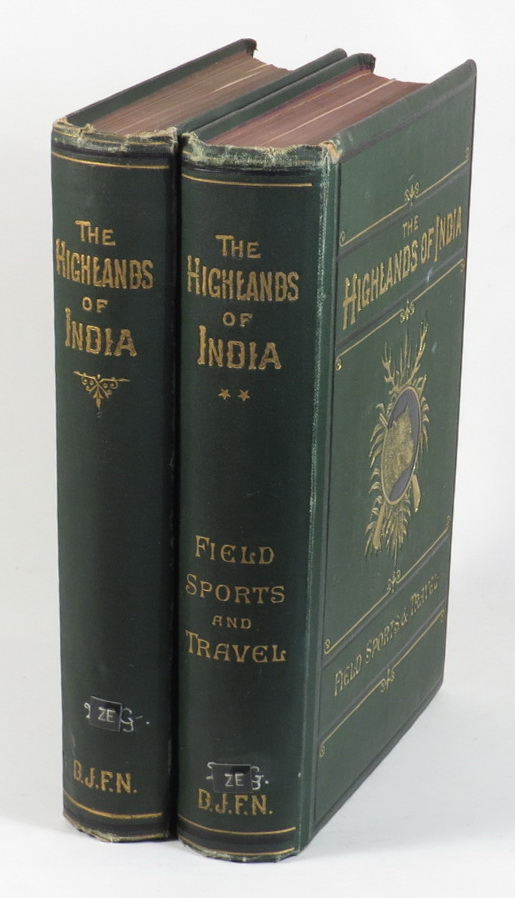 Image for The Highlands of India - Strategically Considered [. . .] [+] The Highlands of India - Vol. II, Being a Chronicle of Field Sports and Travel in India [. . .] [Two volumes]