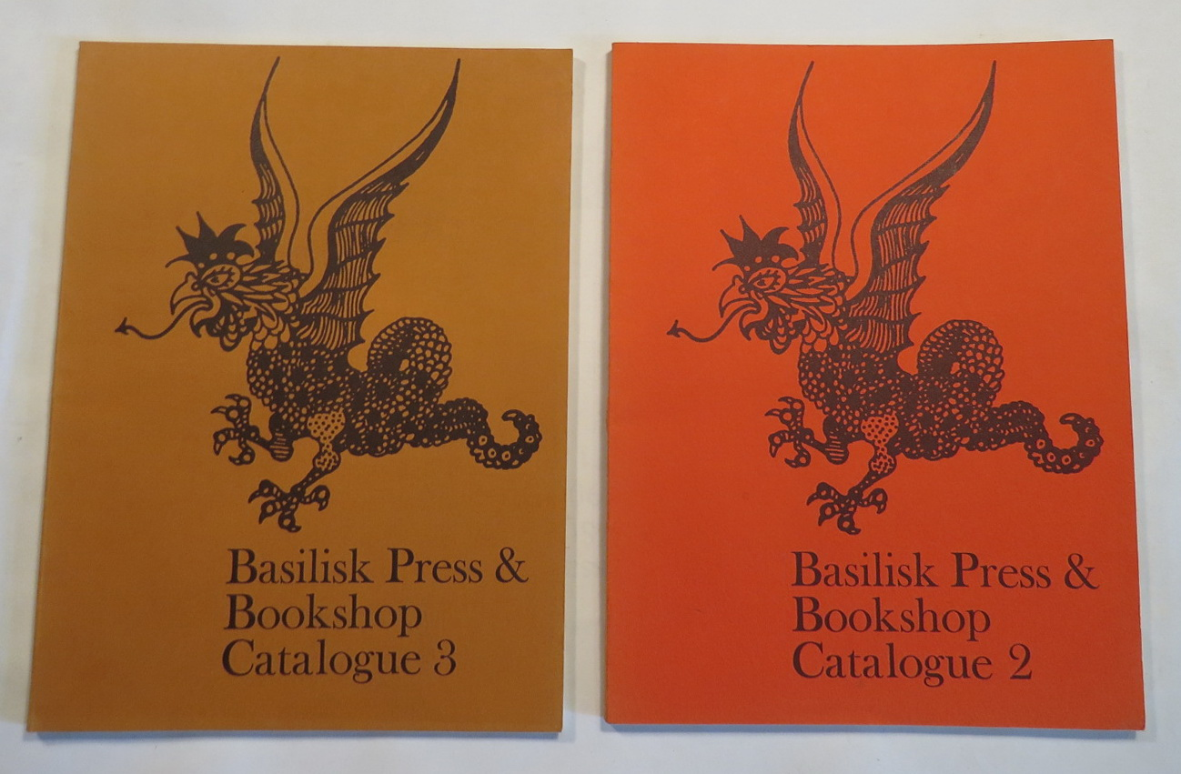 Image for Basilisk Press & Bookshop - Catalogue 2 [&] [. . .] Catalogue 3 [Two catalogues]