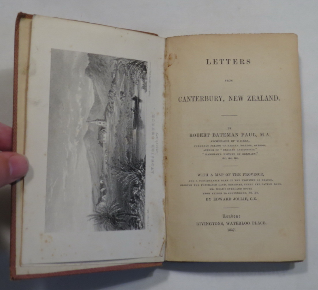 Image for Letters From Canterbury, New Zealand.