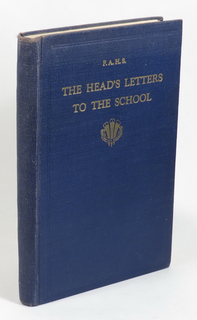 Image for The Head's Letters to the School - From Canada, Great Britain, Norway, Sweden and U.S.A. 1937 (For Private Distribution)